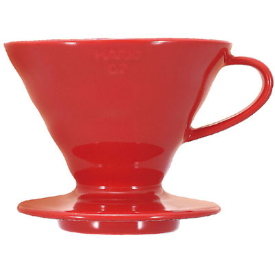 Hario V60 Red Ceramic Coffee Filter Holder