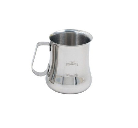 bell shaped frothing pitcher