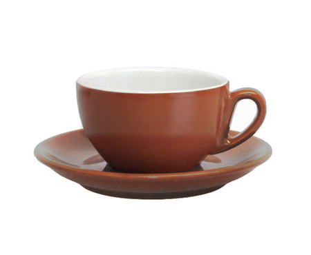 Nuova Point Moka Brown Cappuccino Cup