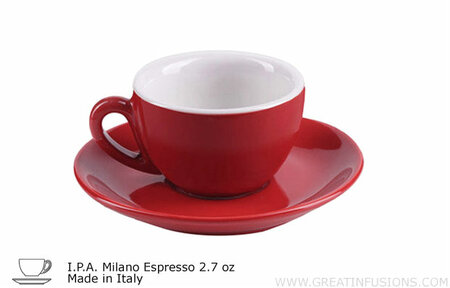 Red Espresso Cups