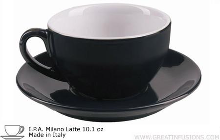 Black Latte Cups