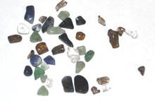 Genuine Gemstone Chipstone Beads - 20g