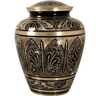 Grand Gold and Black Urn