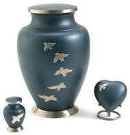 Aria Ascending Birds Cremation Urn