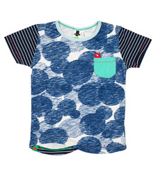 Oishi-m Macha Short Sleeve Tee Pocket Tee (LAST ONE LEFT - SIZE 9-12 MONTHS)
