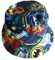 Nettle & Wolf Sunhat  - Batman (LAST ONE LEFT - SIZE XS)