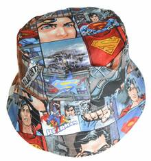 Nettle & Wolf Sunhat - Superman (LAST ONE LEFT - SIZE XS)