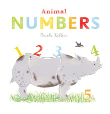 Animal Numbers by Nicola Killen