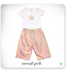 baby star Lounge Set - Connect Pink (LAST ONE LEFT - SIZE 12-18M)