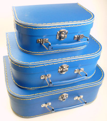 Mini Nesting Suitcases - Dark Blue [PRICED FROM $20]