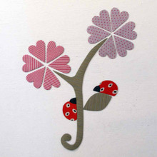 Tinch Studio Magnets - Flower & Ladybugs