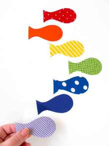Tinch Studio Magnets - Set of 7 Fish