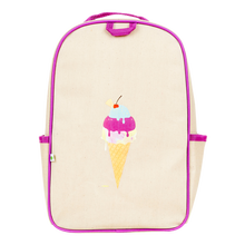 Apple & Mint Little Kid Backpack - Ice Cream