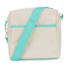Apple & Mint Lunch Tote - Aqua