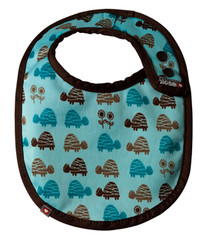 Close Pop-in Stage 1 Bib - Blue Turtle