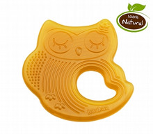 Haakaa Natural Rubber Teether - Sleeping Owl (OUT OF STOCK)