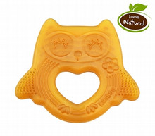 Haakaa Natural Rubber Teether - Smiling Owl
