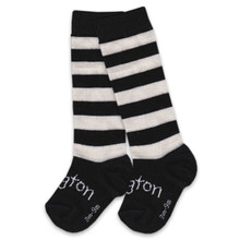 Lamington Merino Socks - Go Black [PRICED FROM 15.90]