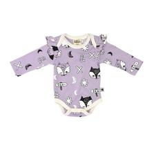 Milk & Masuki Long Sleeve Bodysuit - Fox Dreaming (LAST ONE LEFT - NEWBORN SIZE)