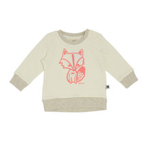 Milk & Masuki Baby Jumper - Hello Fox (ONLY SIZE 1 & SIZE 2 YEARS LEFT)