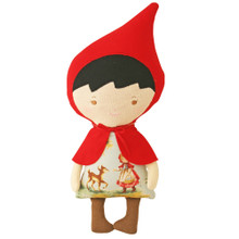 Alimrose Lil' Red Woodland Friends Doll