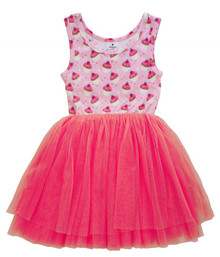 Curious Wonderland - Cupcake Tulle Dress - Pink