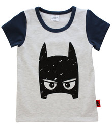 Curious Wonderland - Super Tee - Navy (LAST ONE LEFT - SIZE 1 YEAR)