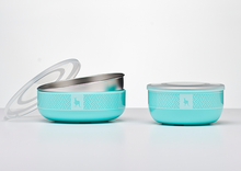 Kangovou Stainless Steel Cereal Bowl - Iced Mint