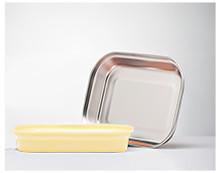 Kangovou Stainless Steel Flat Plate - Lemon Zest
