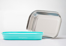 Kangovou Stainless Steel Flat Plate - Iced Mint