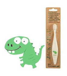 Jack and Jill Biodegradable Toothbrush - Dino