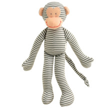Alimrose Monkey Rattle - Grey