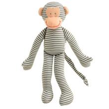 Alimrose Monkey Rattle - Grey