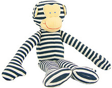 Alimrose Monkey Rattle - Navy