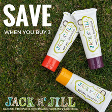 Jack and Jill Toothpaste - 3 pack (Save over 10%)