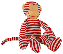 Alimrose Monkey Rattle - Red