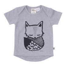 Milk & Masuki Short Sleeve Tee - Sleepy Fox