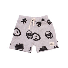 Milk & Masuki Baby Shorts - Hashtag (LAST ONE LEFT - SIZE 0-3M)