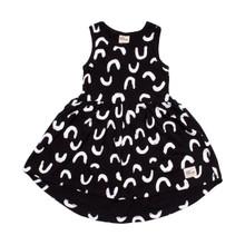 Milk & Masuki Singlet Dress - Squiggle (LAST ONE LEFT - SIZE 7 YEARS)