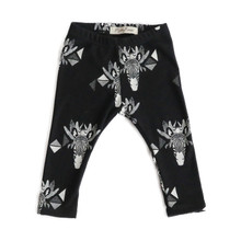 Mickey Rose Leggings - Zebra