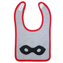 Alimrose Bib - Super Hero Mask