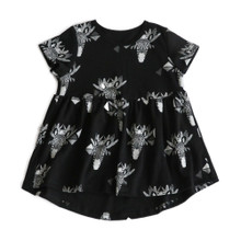 Mickey Rose Dress - Zebra