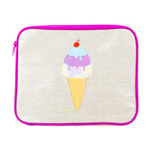 Apple & Mint Carry All Case - Ice Cream