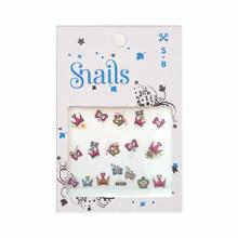Snails Nail Stickers - Perfect Princess