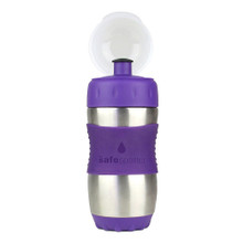 Kid Basix Safe Sporter Bottle 355ml (Small) - Purple (OUT OF STOCK)