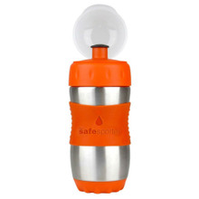 Kid Basix Safe Sporter Bottle 355ml (Small) - Orange (OUT OF STOCK)