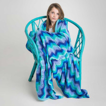O.B. Designs Giant Ripple Blanket - Sky