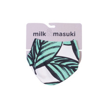 Milk & Masuki Dribble Bib - Ferns Meterage