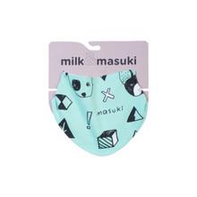 Milk & Masuki Dribble Bib - Woof Meterage