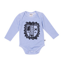 Milk & Masuki Long Sleeve Bodysuit - Lion (LAST ONE LEFT - SIZE 0-3M)
